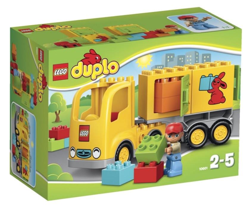 10601 Lego DUPLO Жёлтый грузовик, Лего Дупло
