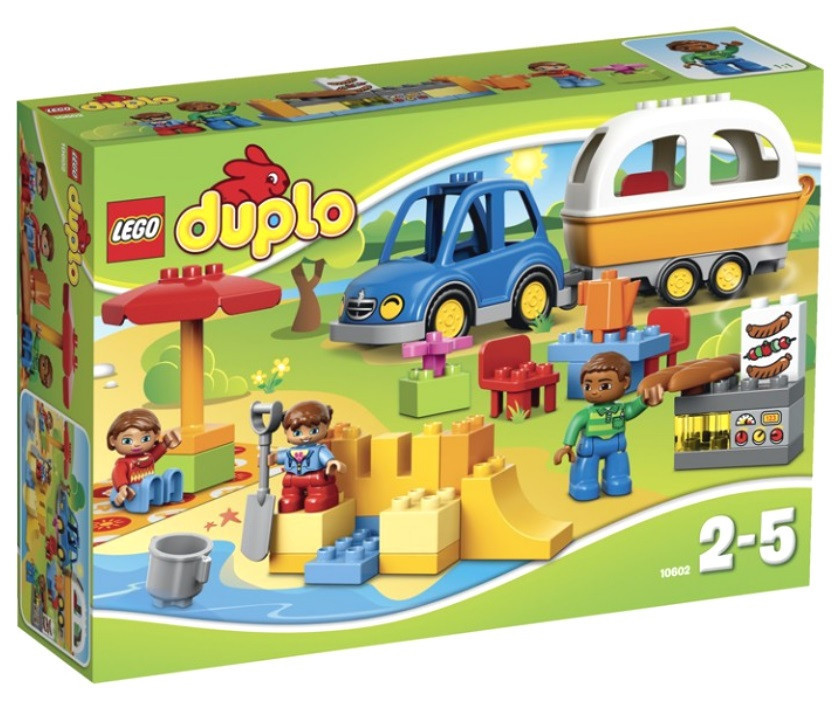 10602 Lego DUPLO Отдых на природе, Лего Дупло