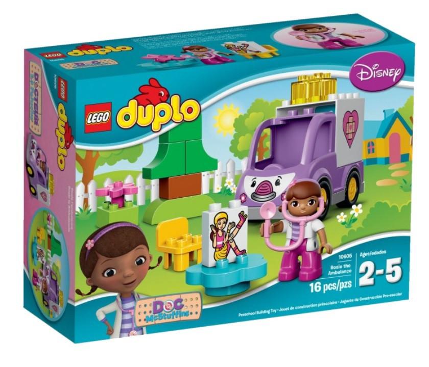 10605 Lego DUPLO Скорая помощь доктора Плюшевой, Лего Дупло
