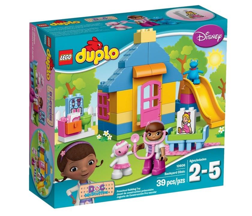 10606 Lego DUPLO Больница доктора Плюшевой, Лего Дупло