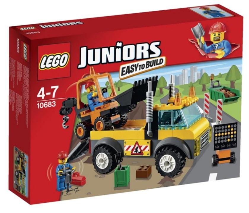 10683 Lego Juniors Ремонт дороги, Лего Джуниорс