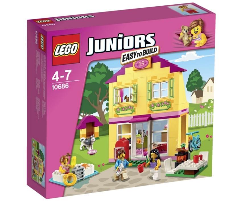 10686 Lego Juniors Семейный домик, Лего Джуниорс