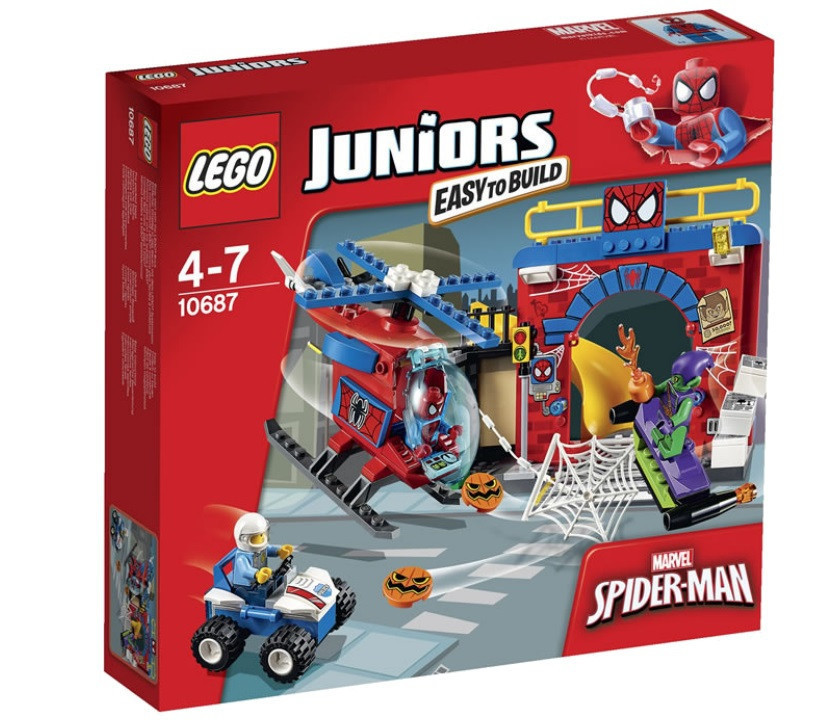10687 Lego Juniors Убежище Человека-паука, Лего Джуниорс