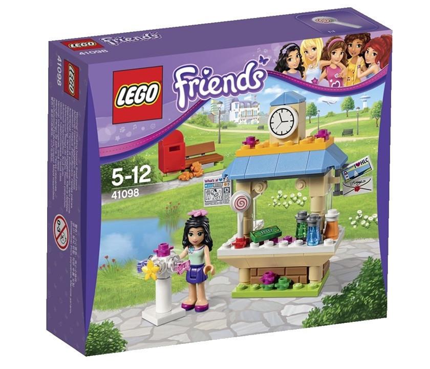 41098 Lego Friends Туристический киоск Эммы, Лего Подружки