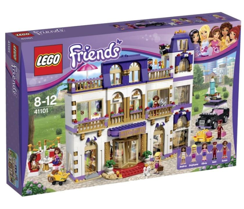 41101 Lego Friends Гранд-отель, Лего Подружки
