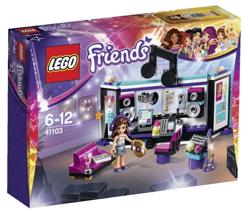 41103 Lego Friends Поп-звезда: Студия звукозаписи, Лего Подружки