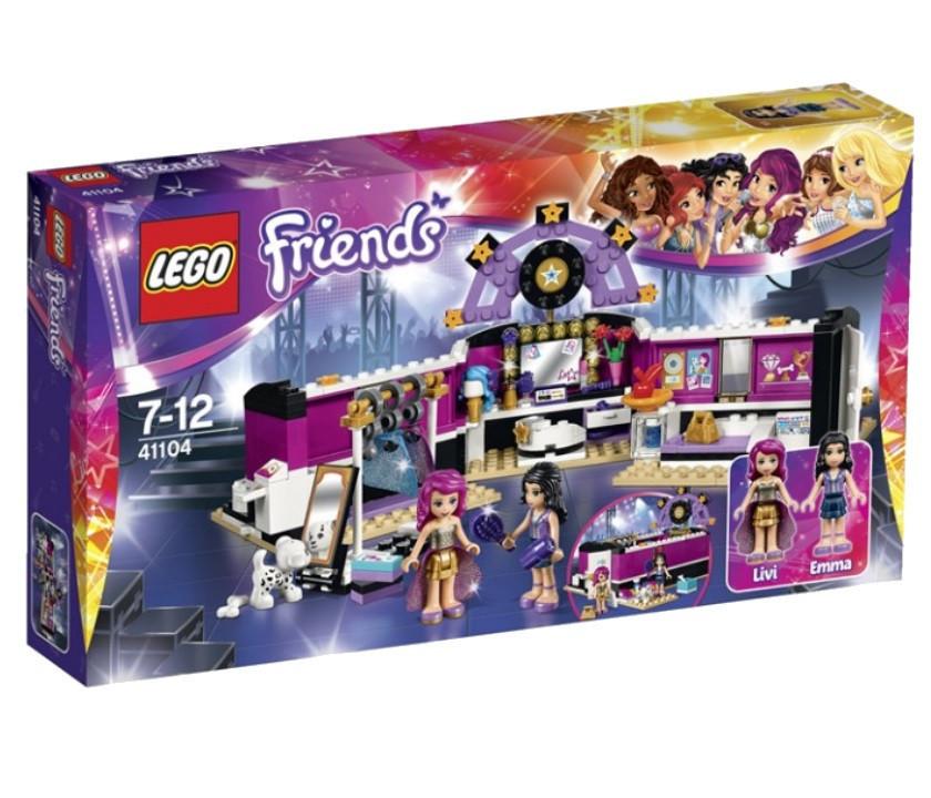 41104 Lego Friends Поп-звезда: Гримёрная, Лего Подружки