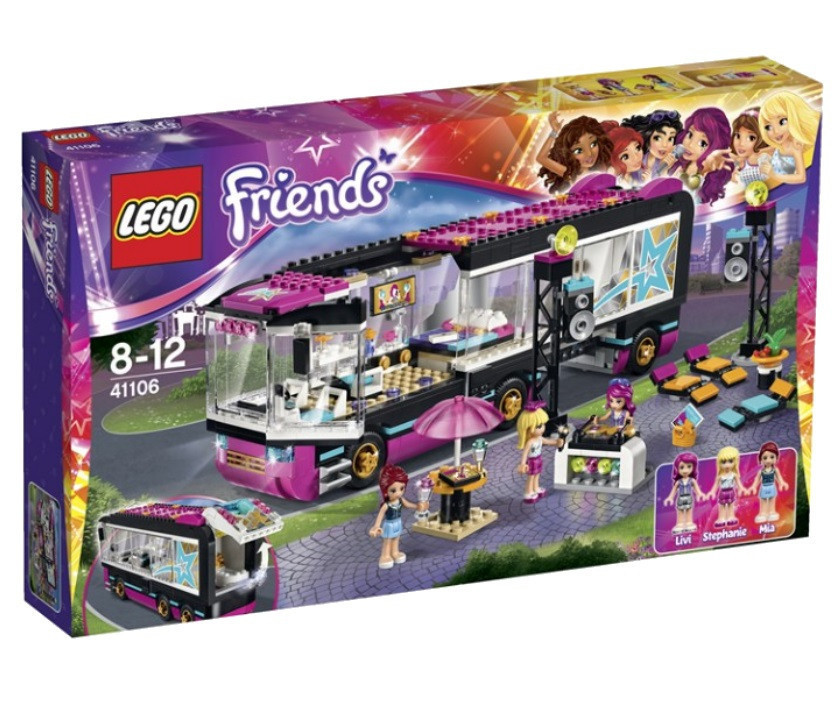 41106 Lego Friends Поп-звезда: Гастроли, Лего Подружки