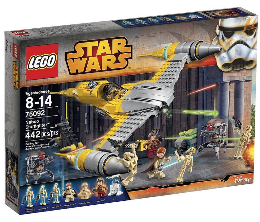 75092 Lego Star Wars  Истребитель Набу™, Лего Звездные войны