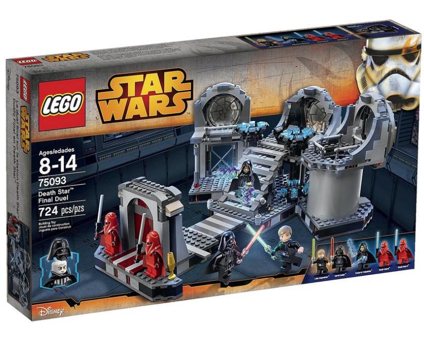 75093 Lego Star Wars Звезда Смерти™ – Последняя схватка, Лего Звездные войны