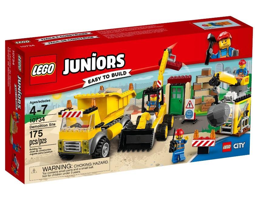 10734 Lego Juniors Стройплощадка, Лего Джуниорс