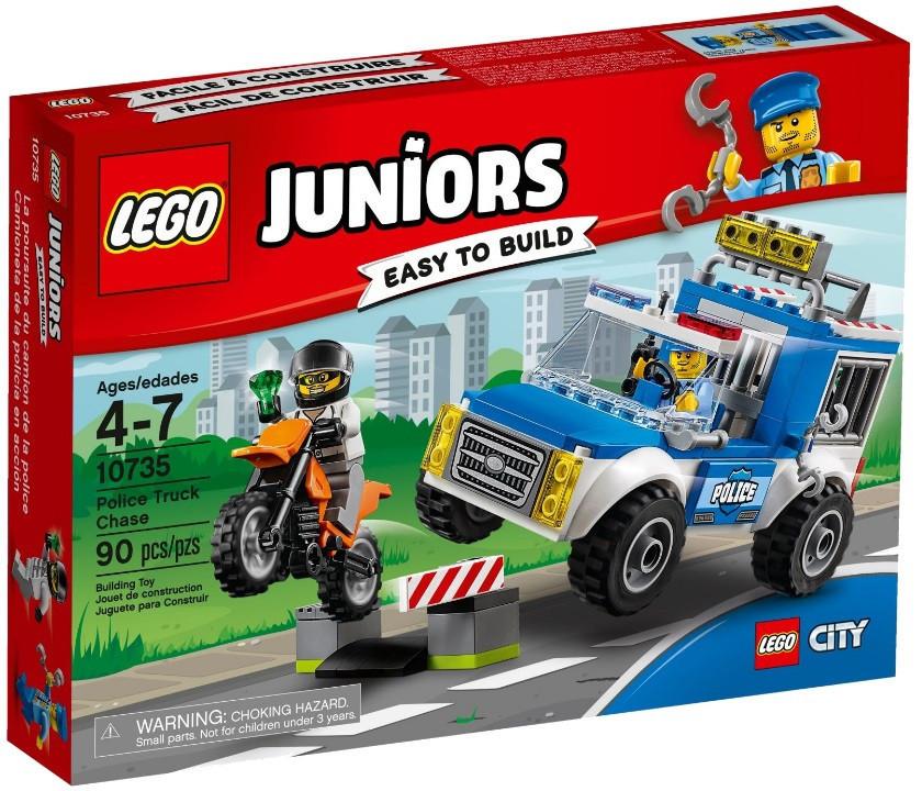 10735 Lego Juniors Погоня на полицейском грузовике, Лего Джуниорс