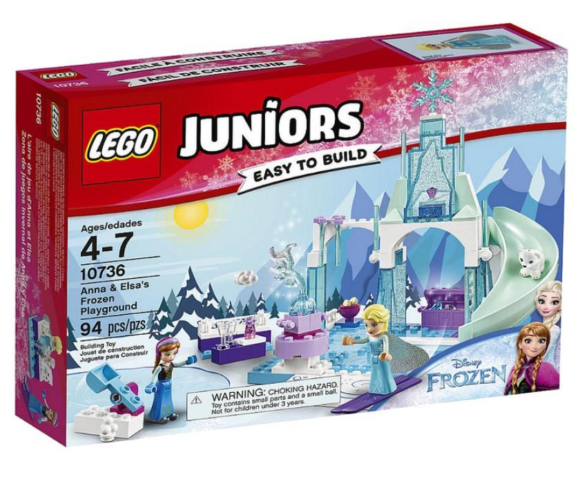 10736 Lego Juniors Игровая площадка Эльзы и Анны, Лего Джуниорс