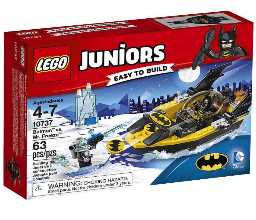 10737 Lego Juniors Бэтмен против Мистера Фриза, Лего Джуниорс