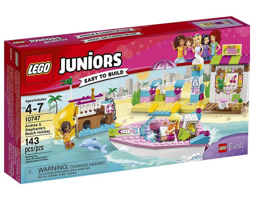 10747 Lego Juniors День на пляже с Андреа и Стефани, Лего Джуниорс