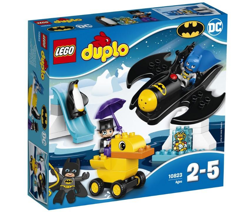10823 Lego Duplo Приключения на Бэтмолёте, Лего Дупло