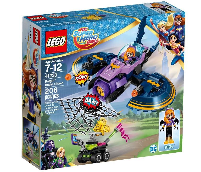 41230 Lego Супергёрлз Бэтгёрл: Погоня на реактивном самолёте