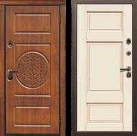 Входная металлическая ламинат дверь модель Асель