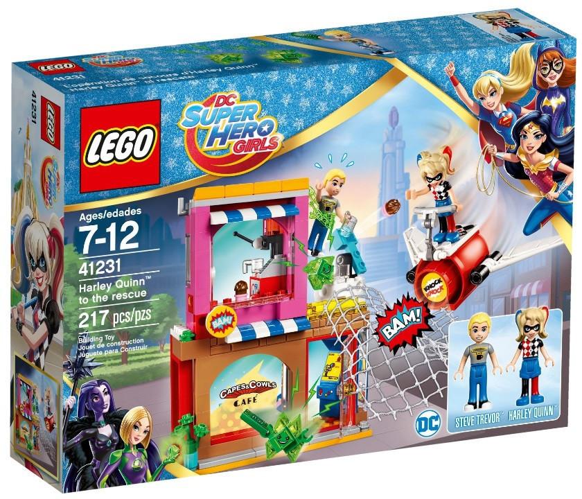 41231 Lego Супергёрлз Харли Квинн™ спешит на помощь