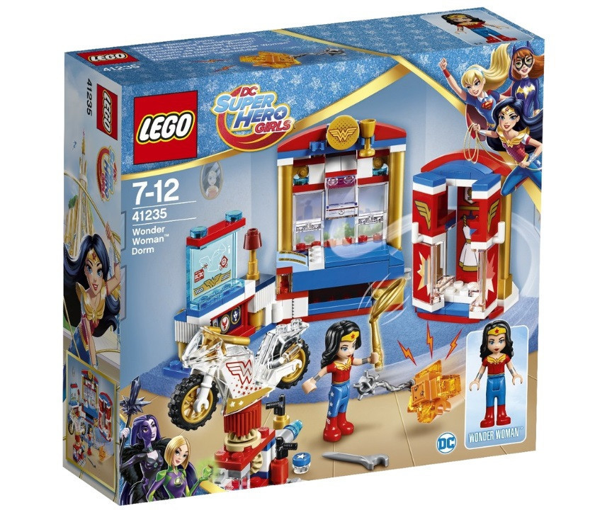41235 Lego Супергёрлз Дом Чудо-женщины™