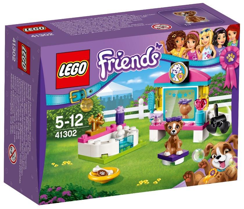 41302 Lego Friends Выставка щенков: Салон красоты, Лего Подружки