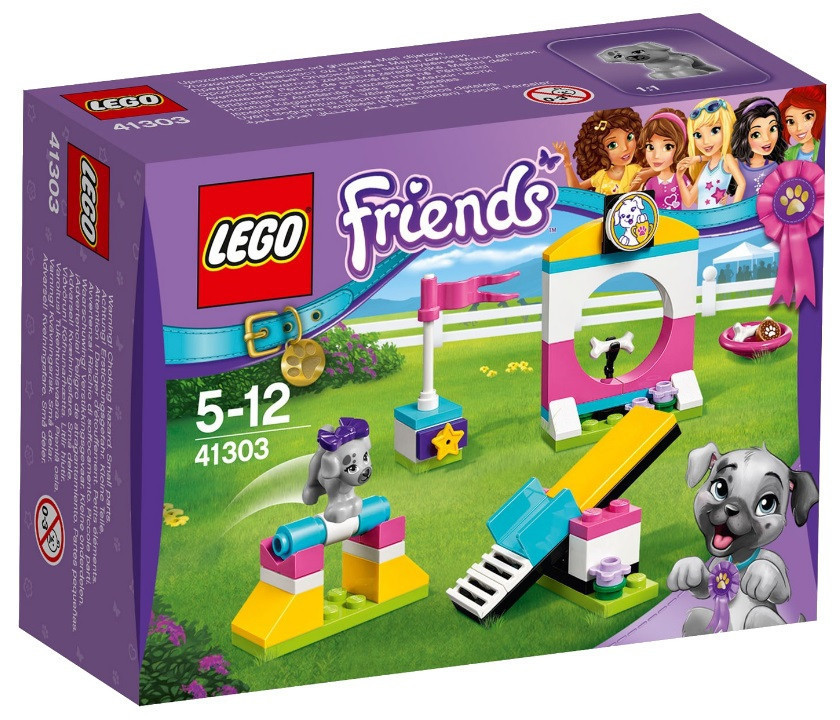 41303 Lego Friends Выставка щенков: Игровая площадка, Лего Подружки