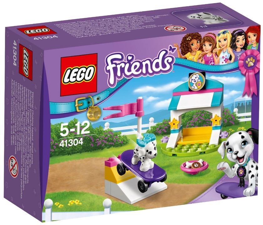 41304 Lego Friends Выставка щенков: Скейт-парк, Лего Подружки