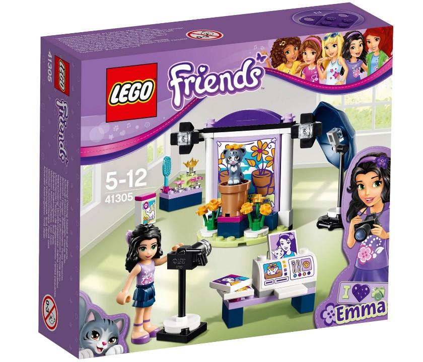 41305 Lego Friends Фотостудия Эммы, Лего Подружки