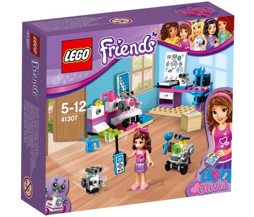 41307 Lego Friends Творческая лаборатория Оливии, Лего Подружки