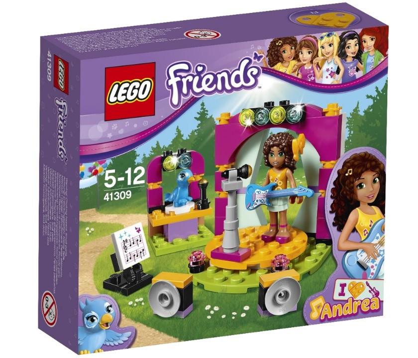 41309 Lego Friends Музыкальный дуэт Андреа, Лего Подружки