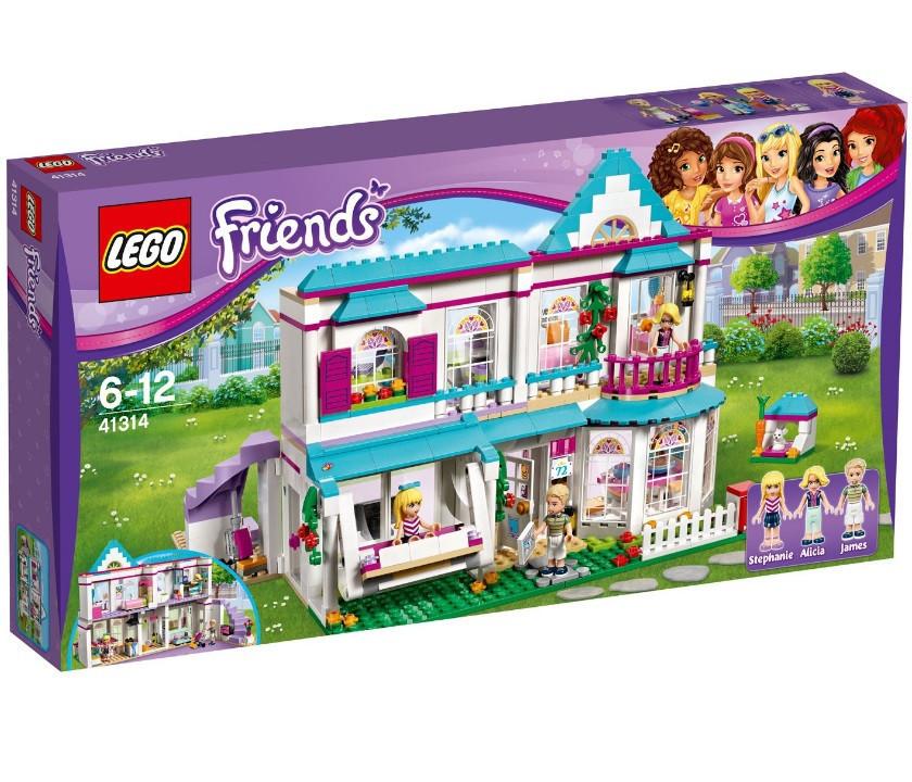 41314 Lego Friends Дом Стефани, Лего Подружки