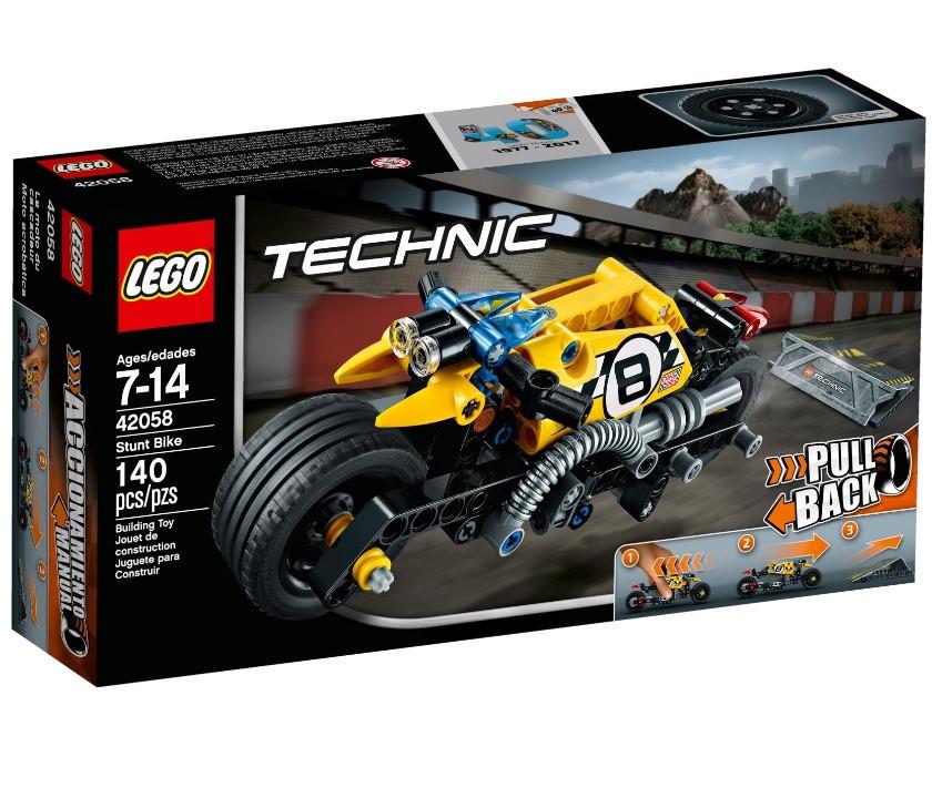 42058 Lego Technic Мотоцикл для трюков, Лего Техник