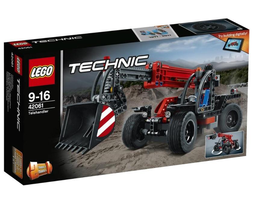 42061 Lego Technic Телескопический погрузчик, Лего Техник