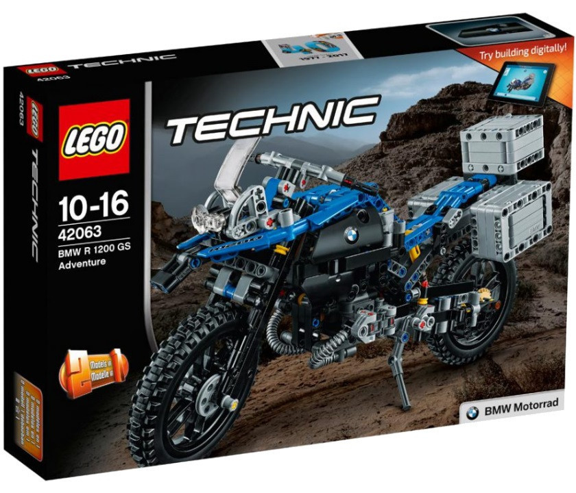 42063 Lego Technic Приключения на BMW R 1200 GS, Лего Техник