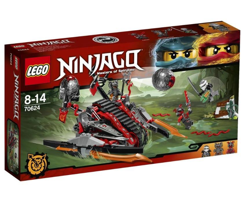 70624 Lego Ninjago Алый захватчик, Лего Ниндзяго