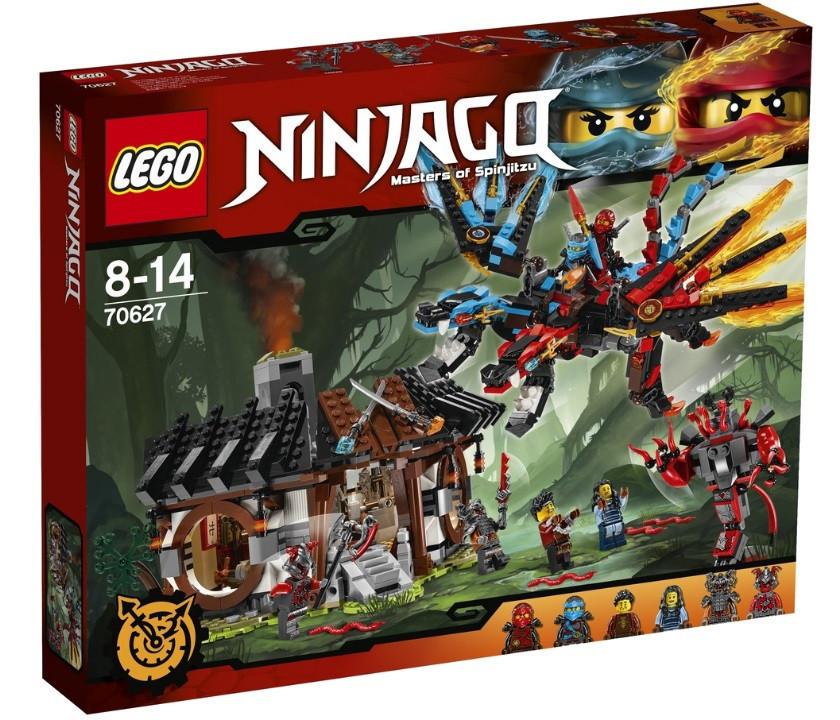 70627 Lego Ninjago Кузница Дракона, Лего Ниндзяго
