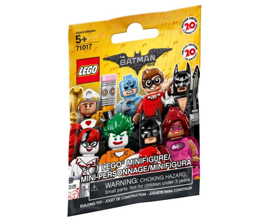 71017 Lego Минифигурка Лего Фильм: Бэтмен (неизвестная, 1 из 20 возможных)
