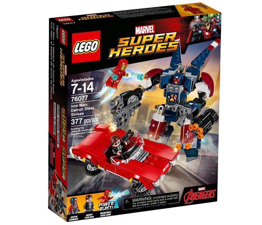 76077 Lego Super Heroes Железный человек: Стальной Детройт наносит удар, Лего Супергерои Marvel