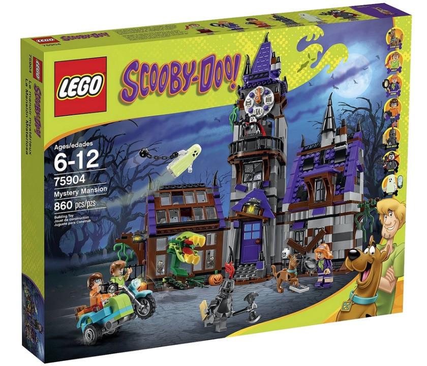 75904 Lego Scooby Doo Таинственный особняк