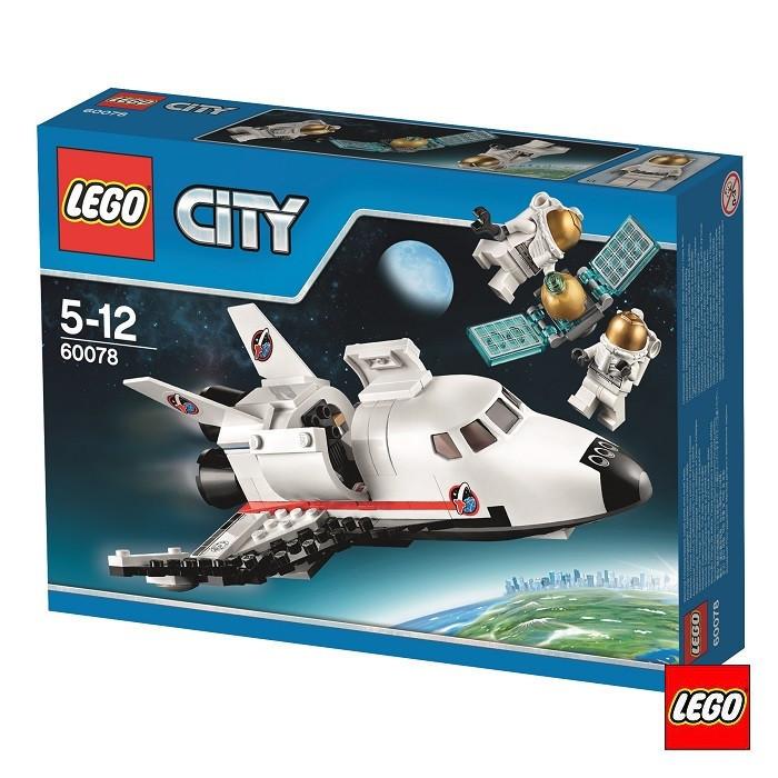 60078 Lego City Обслуживающий шаттл, Лего Город Сити