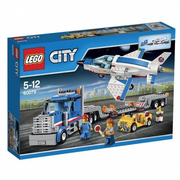 60079 Lego City Транспортёр для учебных самолётов, Лего Город Сити