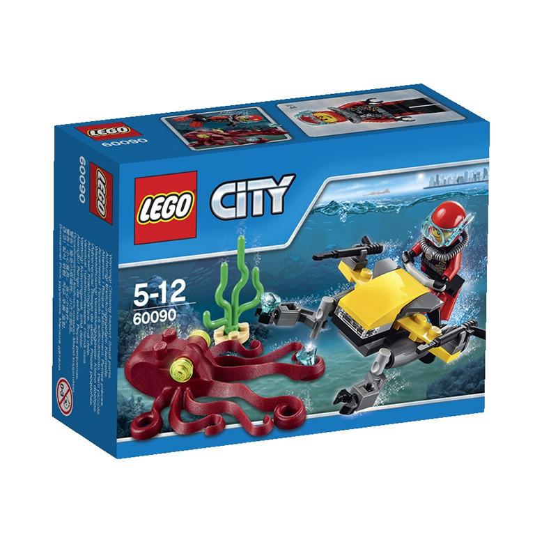 60090 Lego City Глубоководный скутер, Лего Город Сити