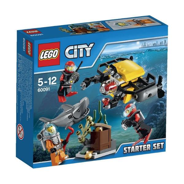 60091 Lego City Исследование морских глубин, Лего Город Сити
