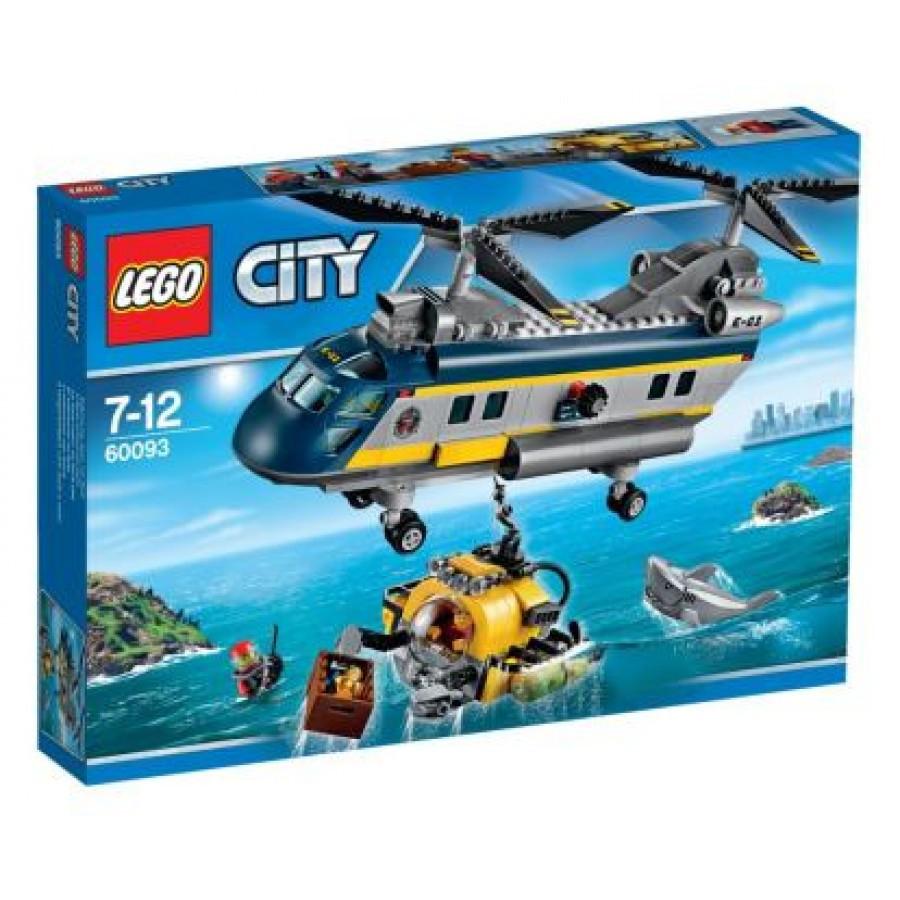 60093 Lego City Вертолет исследователей моря, Лего Город Сити