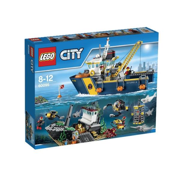 60095 Lego City Корабль исследователей морских глубин, Лего Город Сити