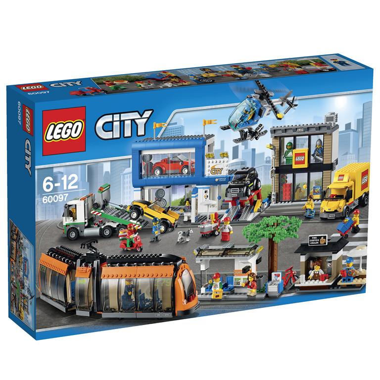 60097 Lego City Городская площадь, Лего Город Сити