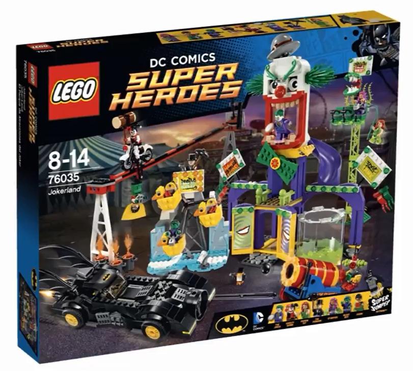 76035 Lego Super Heroes Джокерленд, Лего Супергерои DC