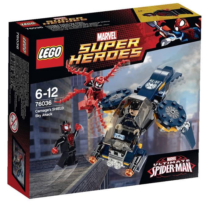 76036 Lego Super Heroes Воздушная атака Карнажа, Лего Супергерои Marvel