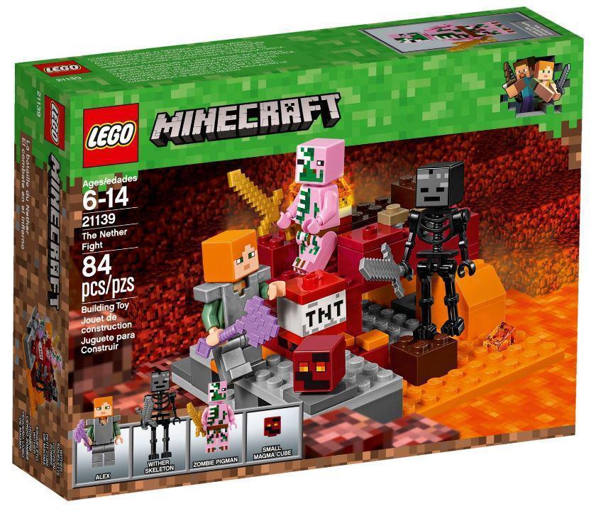 21139 Lego Minecraft Бой в Нижнем мире, Лего Майнкрафт