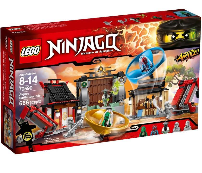 70590 Lego Ninjago Аэроджитцу: Поле битвы, Лего Ниндзяго